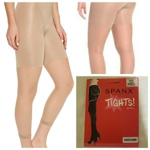 Spanx Tights BOOTYFULL plus size 7 G Nude